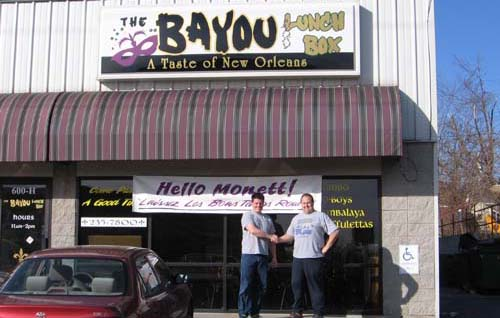 Photo of The Bayou Lunch Box Storefront
